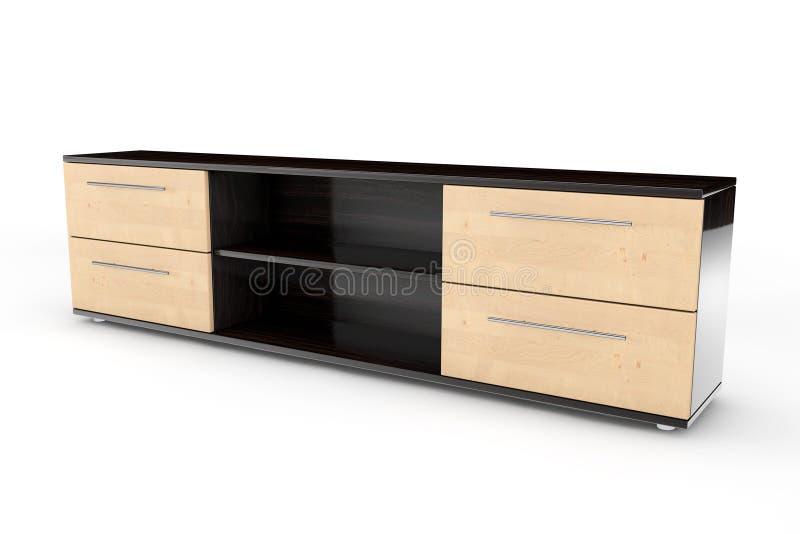 Apprettatrice di legno del primo piano fotografia stock