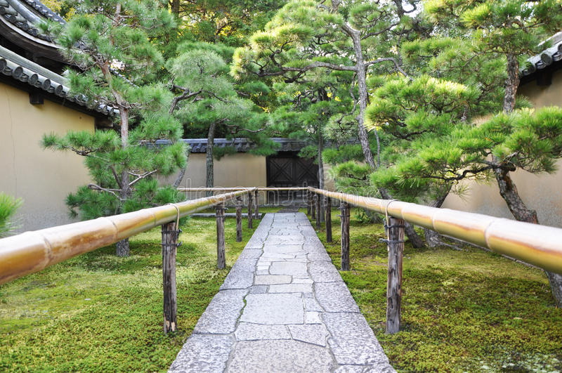 Download Approach Road To The Temple, Koto-in A Sub-temple Of Daitoku-ji Stock Image - Image: 29176815