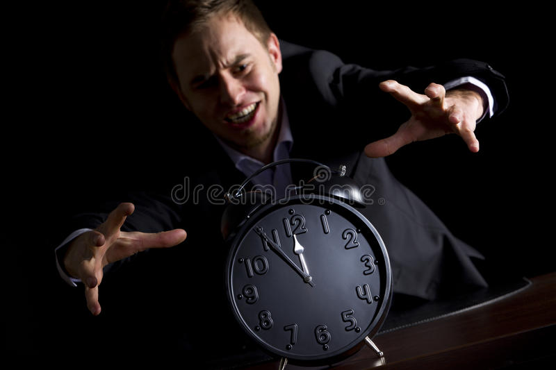 Download Approaching End For Business Person. Stock Image - Image of disaster, failing: 18692369