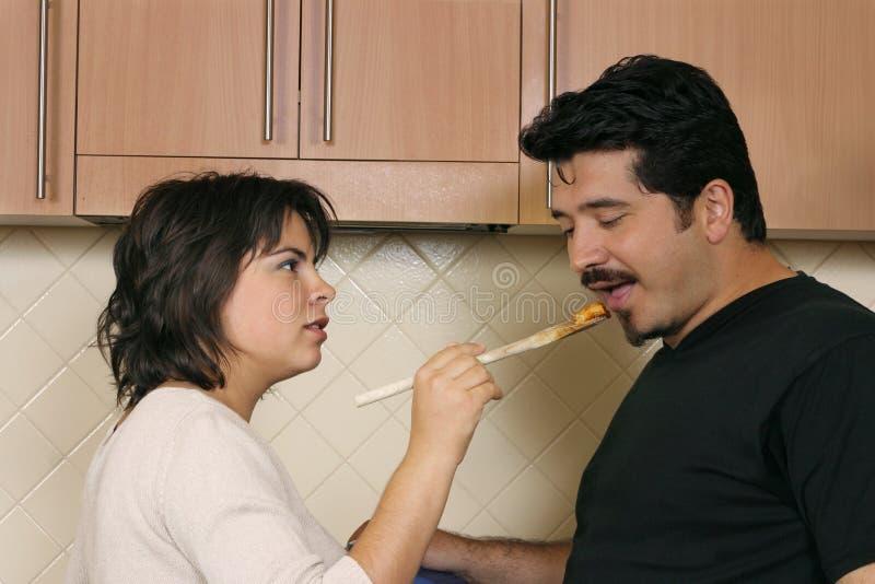 Download Approbation photo stock. Image du deux, mari, recette, femelle - 90652
