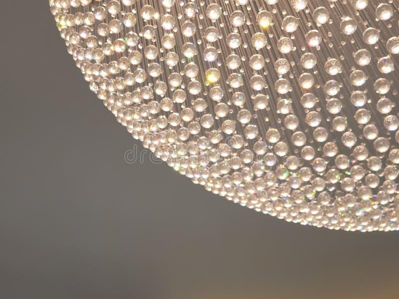 approche au coin d'une sphère des boules de cristal et de la réflexion de la lumière à la couleur, à l'arrière-plan et à l images stock
