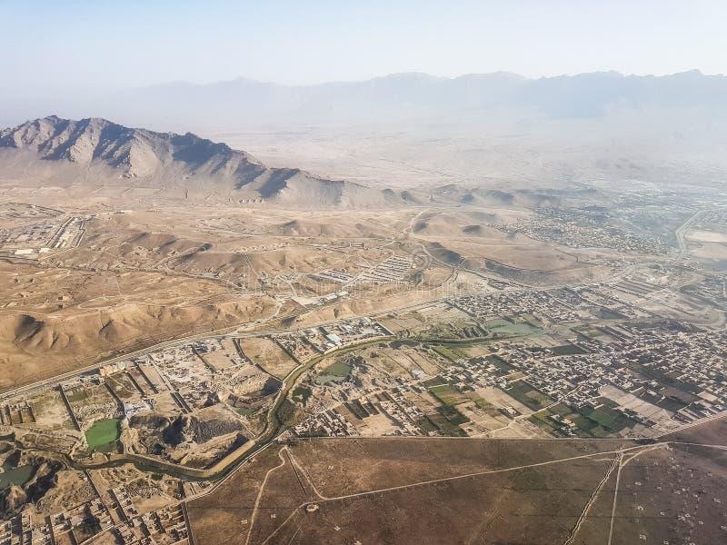Approches dans l'aéroport international de Kaboul photo stock