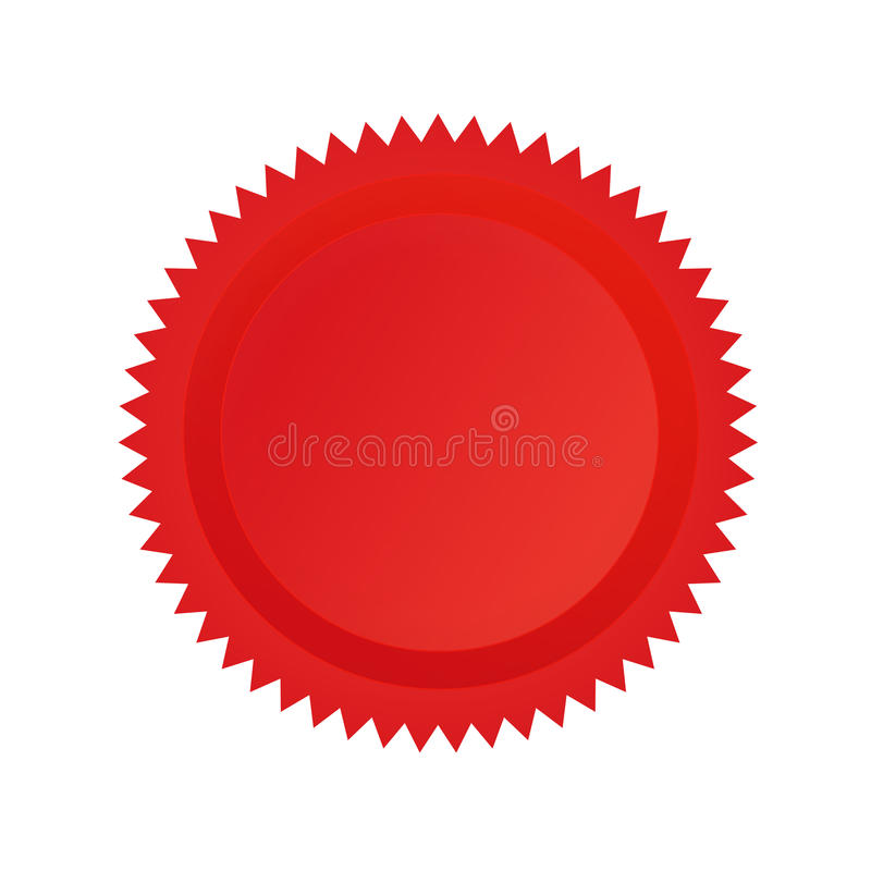 approval seal red stock vector  illustration of