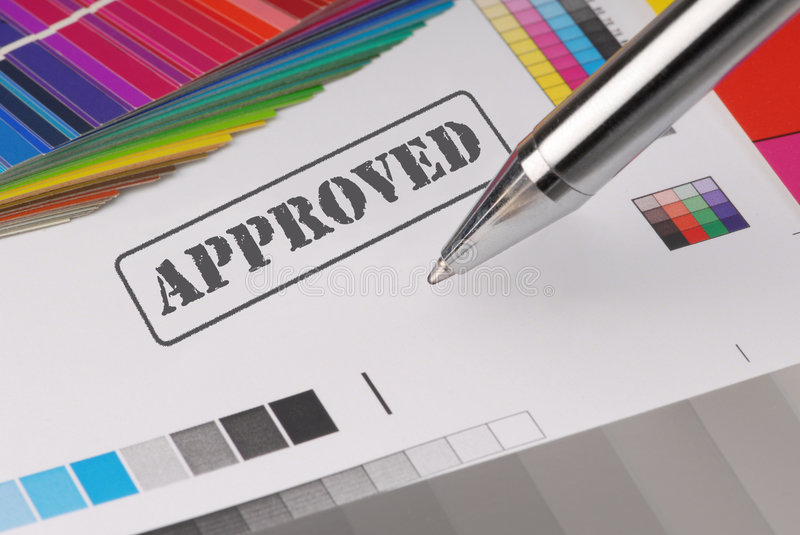 Approved stock images