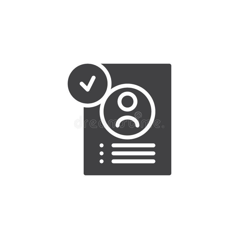 application form line icon  edit outline logo illustratio stock illustration