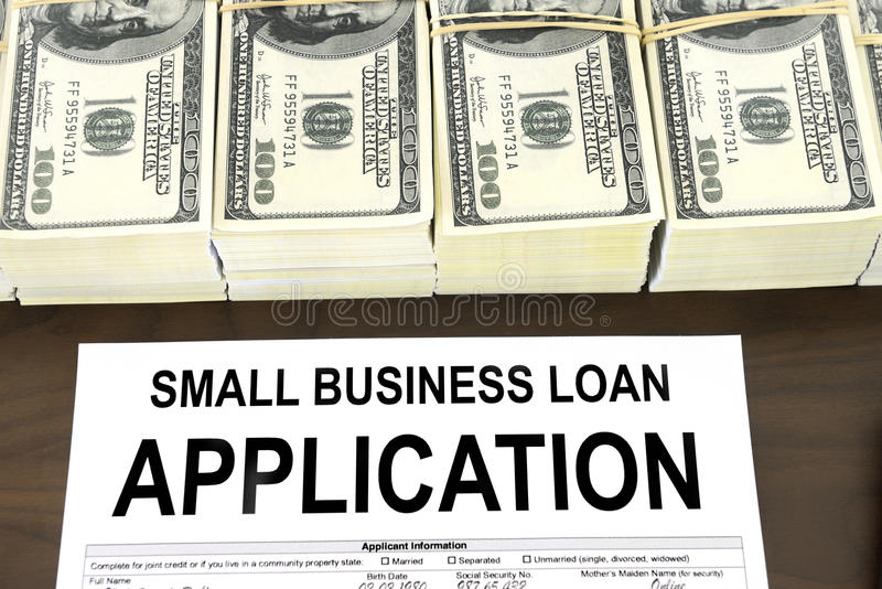 Approved Small Business Loan Application Form And Money Royalty ...