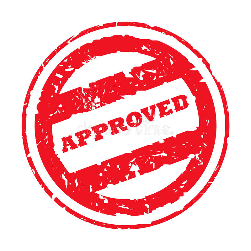 Free Approved Stamp Stock Images - 9830254