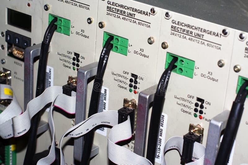 Approvisionnement d'alimentation CC 48V photos libres de droits