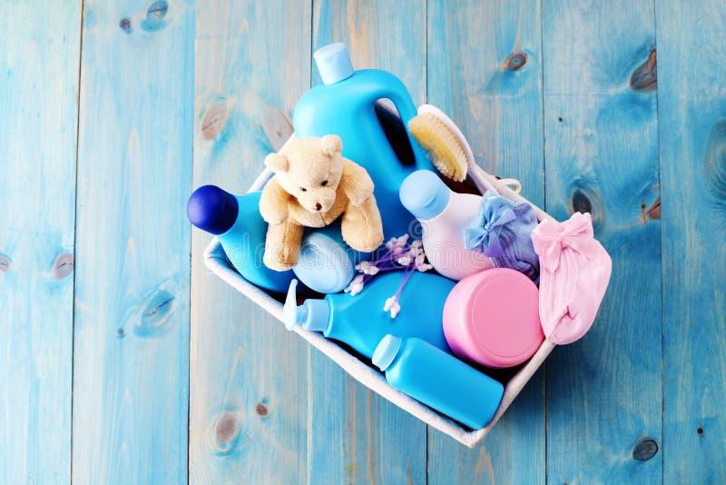 Approvisionnements de bébé photo stock