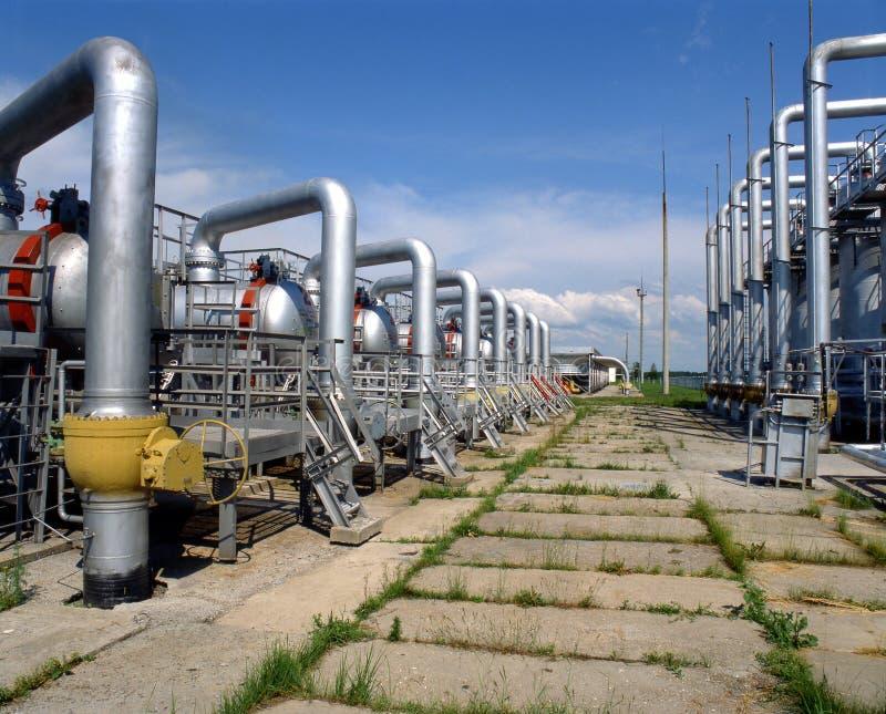 Approvvigionamento di gas immagini stock