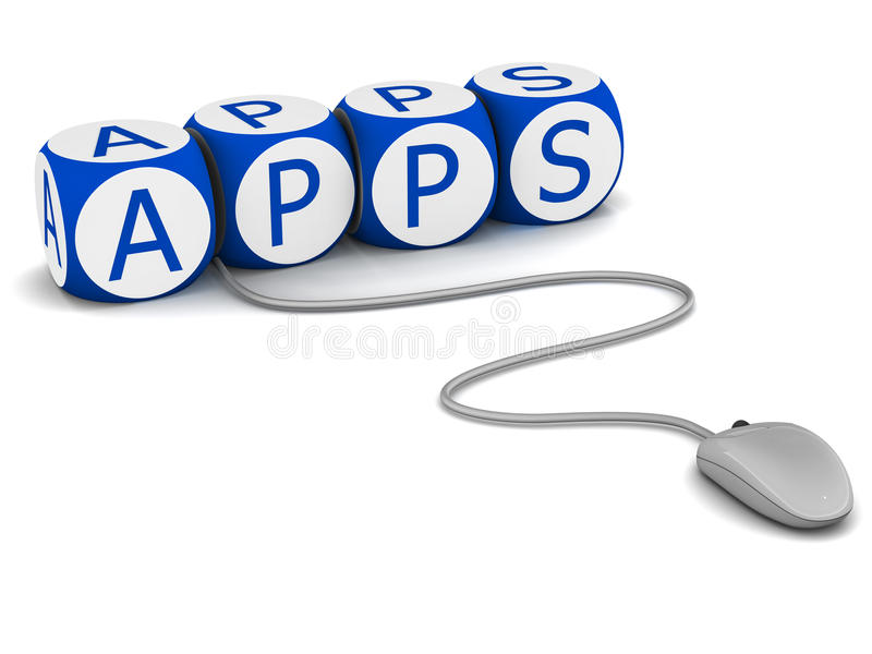 Apps vector illustratie