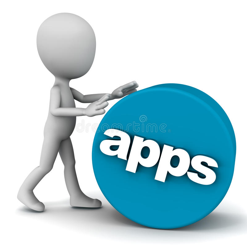 Apps ilustración del vector
