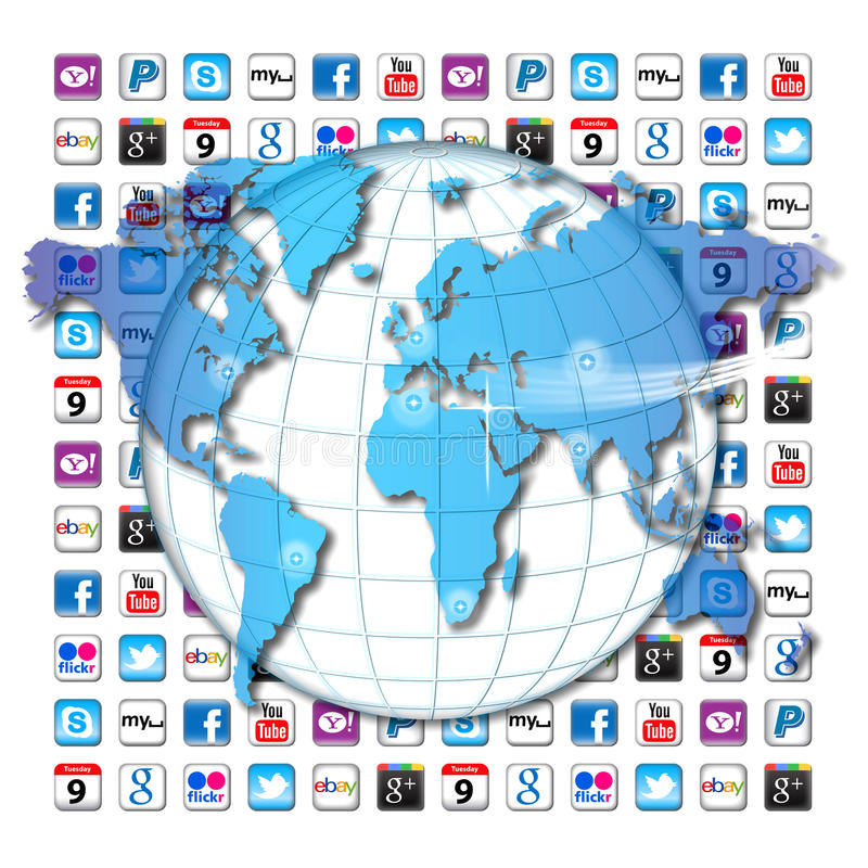 Download Apps communication world editorial photography. Image of america - 27764677