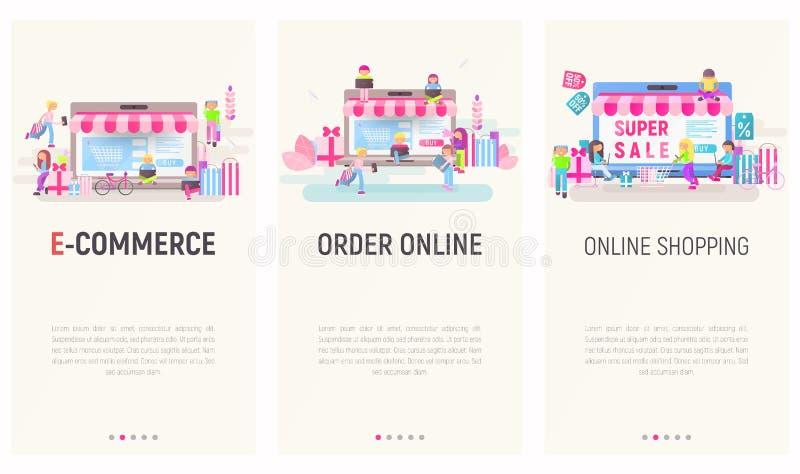 Apps que hacen compras móviles libre illustration