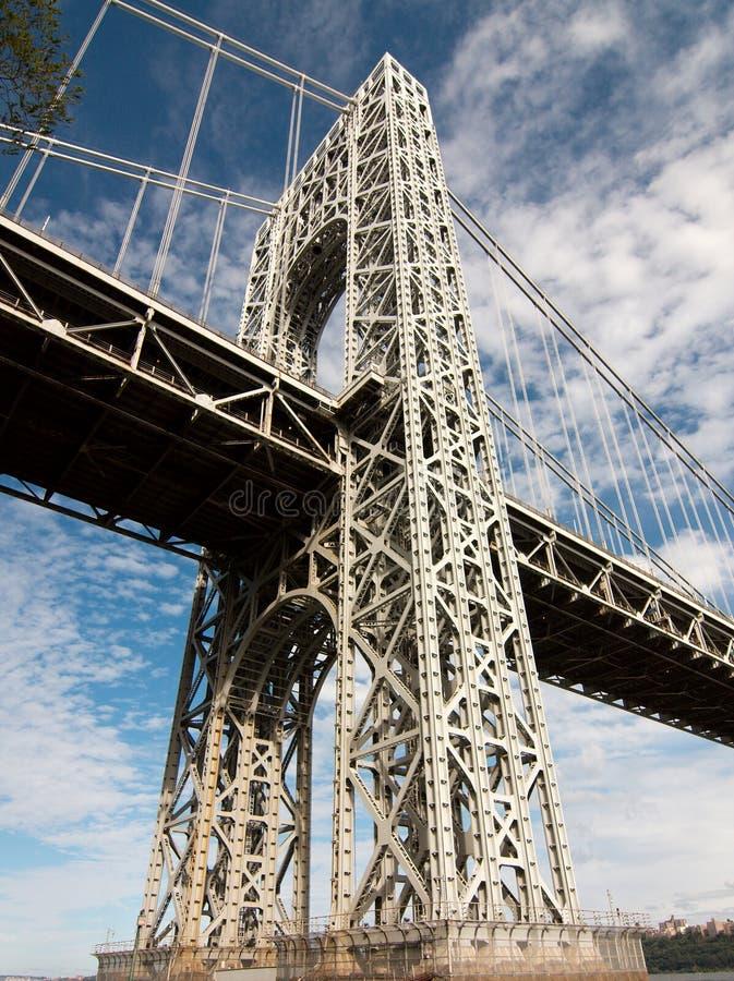 Appui de pont de George Washington image stock