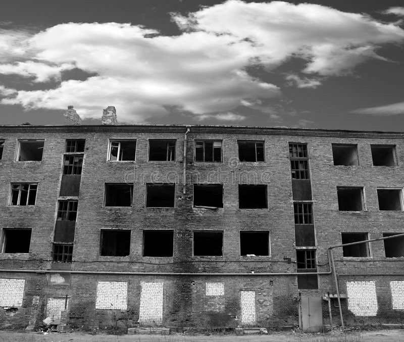 Après guerre photographie stock libre de droits