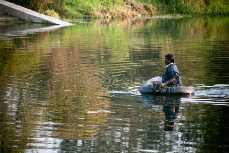Après l'inondation images stock
