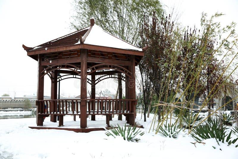 Après la neige images stock
