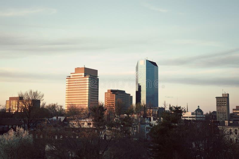 Après-midi à Lexington photographie stock libre de droits