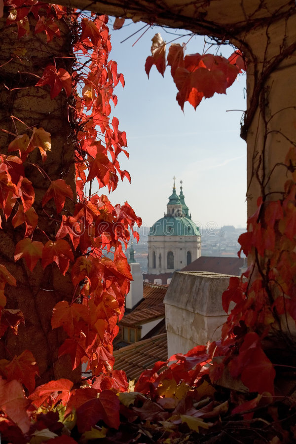 Après-midi à Prague photo stock