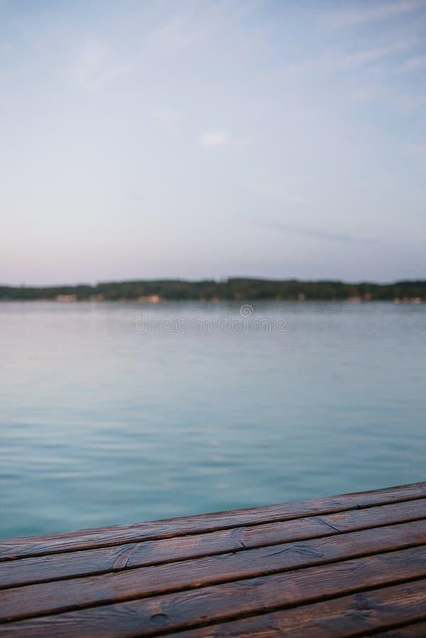 Après-midi au lac photos stock