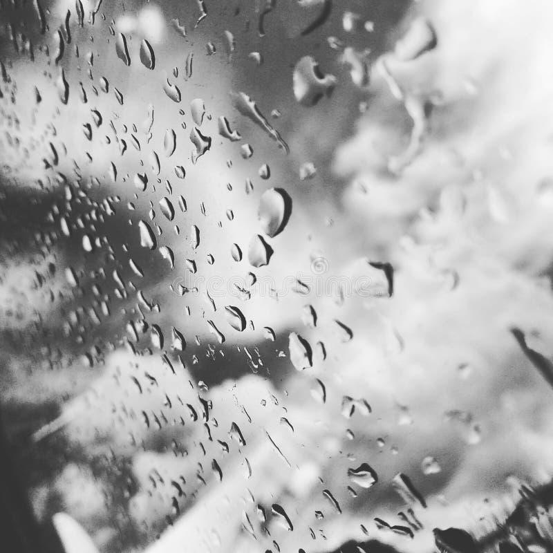 Après-midi pluvieux image libre de droits
