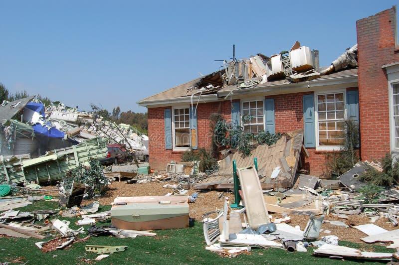 Après ouragan images libres de droits