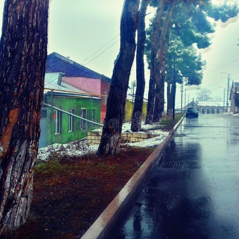 Après pluie images stock