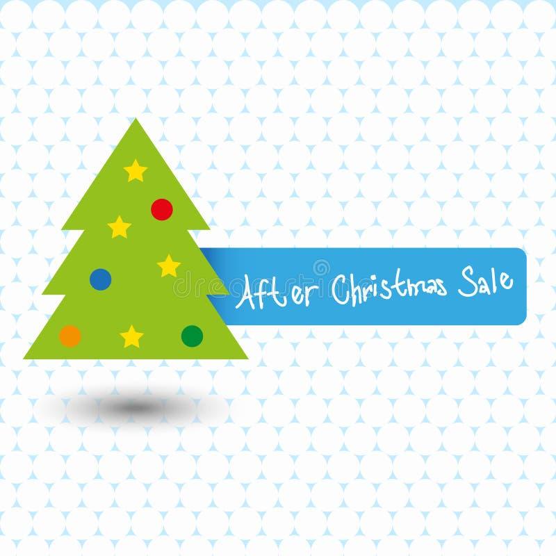 Après vente de Noël - actions illustration libre de droits