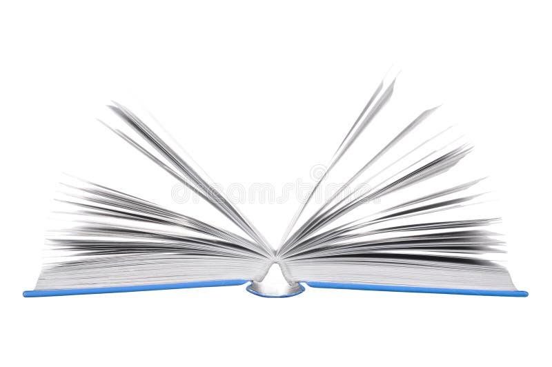 Apra i libri fotografia stock