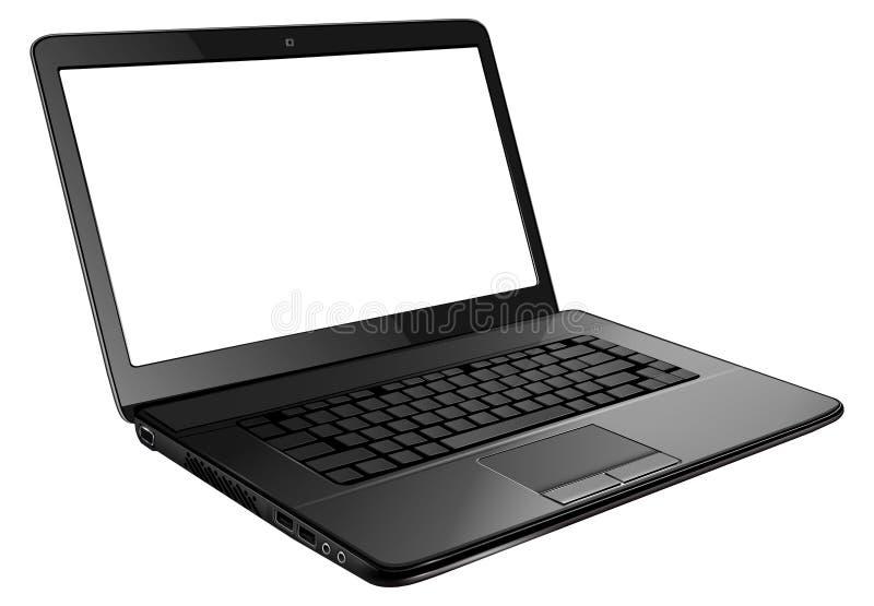 Apra il computer portatile royalty illustrazione gratis