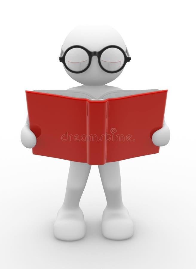 Apra il libro illustrazione di stock