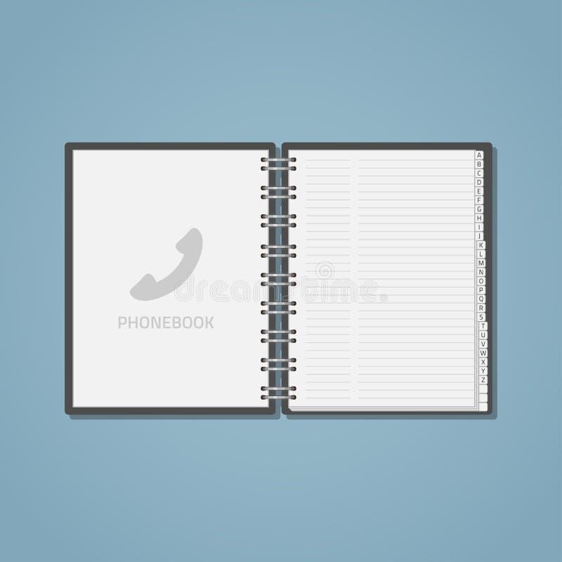 Apra il libro elettronico di fon royalty illustrazione gratis