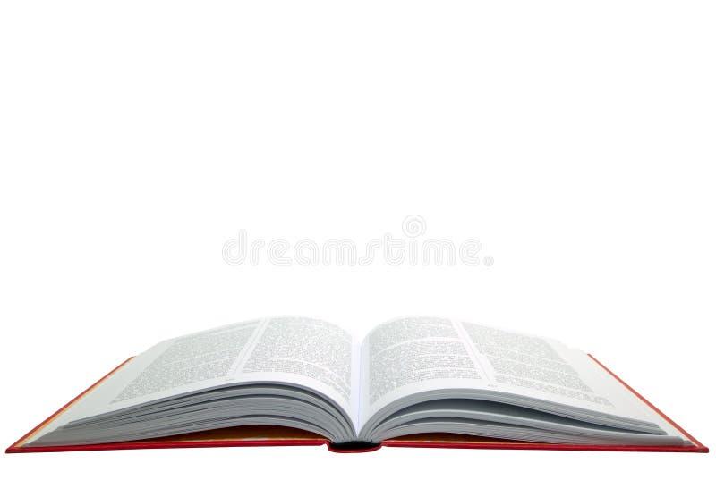 Apra il libro rosso immagine stock libera da diritti
