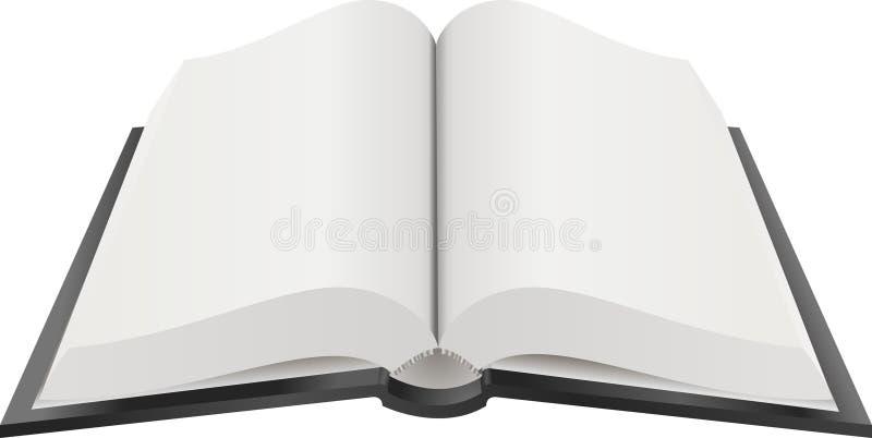 Apra l'illustrazione di libro illustrazione vettoriale