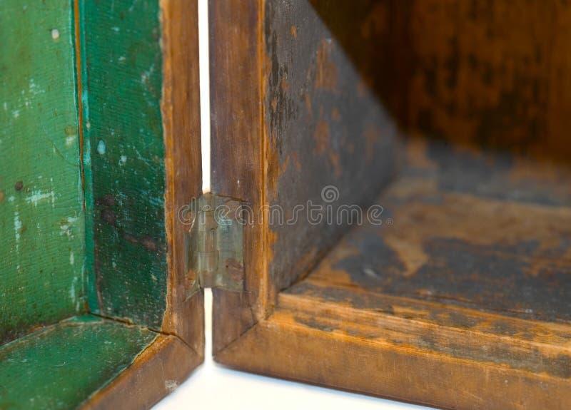 Apra la casella fotografia stock