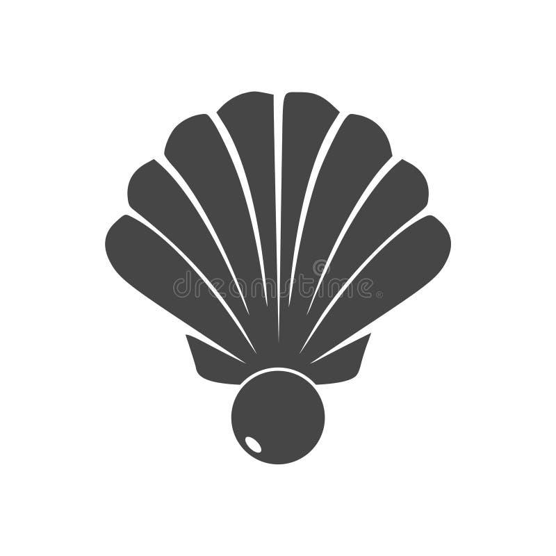 Apra le coperture con un'icona della perla royalty illustrazione gratis