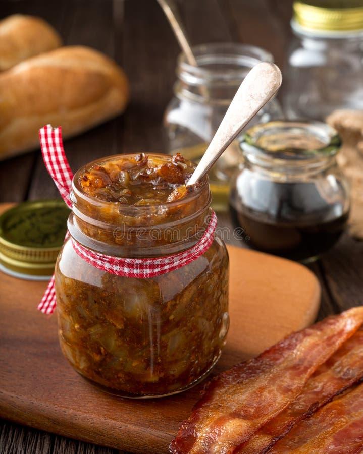 Apreciação do doce do bacon imagens de stock royalty free