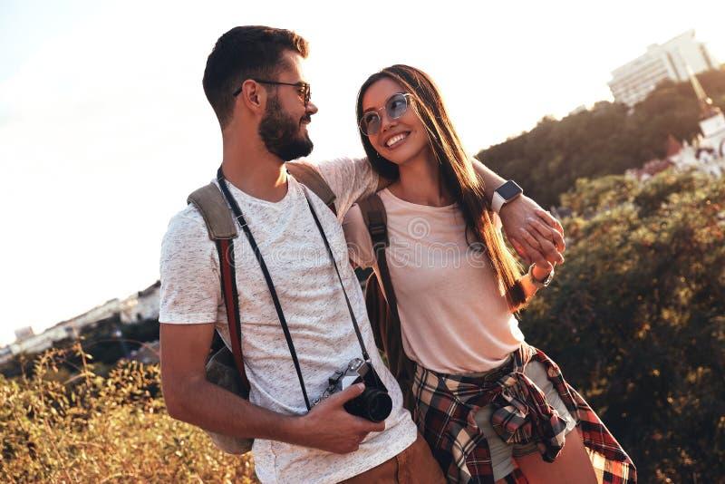 Apreciando momentos felizes fotografia de stock royalty free