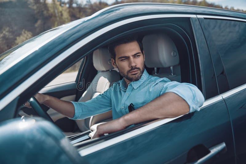 Apreciando o passeio do carro imagem de stock royalty free