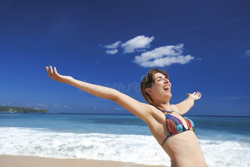 Apreciando o verão fotografia de stock