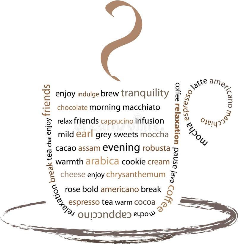 Aprecie sua ruptura de café ilustração do vetor