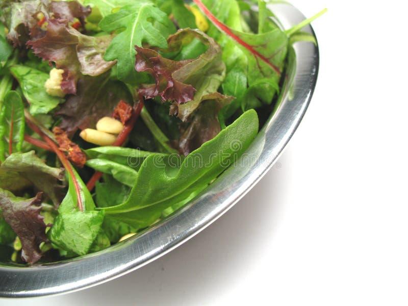Aprecie sua salada imagem de stock royalty free