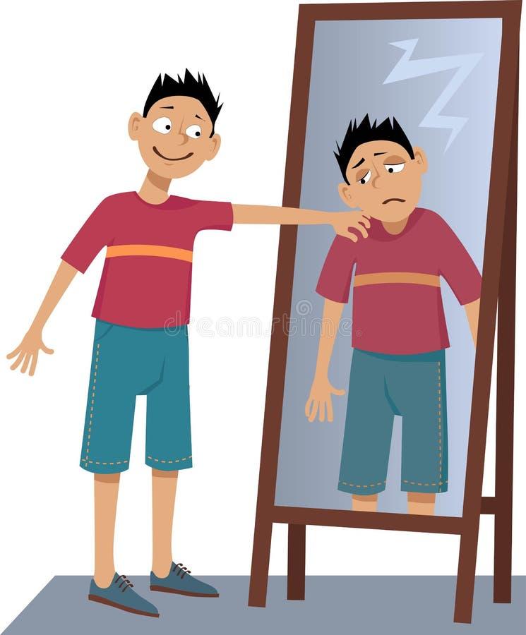 Aprenda amar-se ilustração do vetor