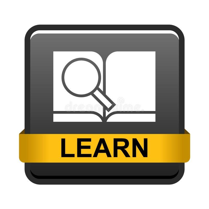 Aprenda más botón libre illustration