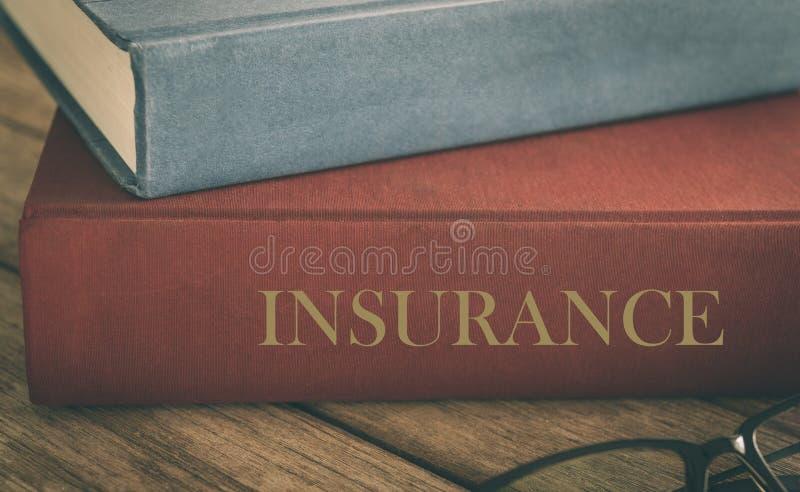 Aprenda o conceito do seguro foto de stock royalty free