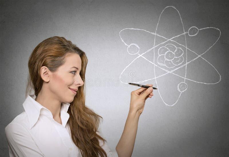 Aprendendo a ciência da física imagem de stock royalty free