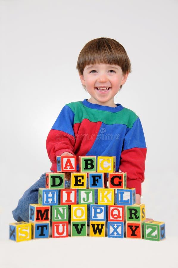 Aprendendo meus ABC imagem de stock