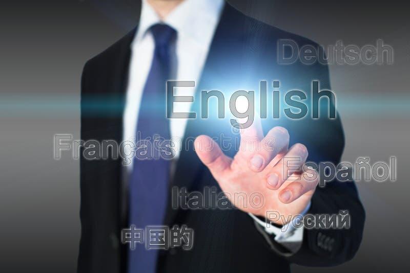 Aprendendo o inglês imagens de stock
