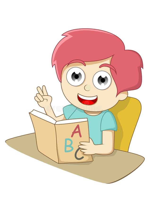 Aprendizagem ilustração royalty free